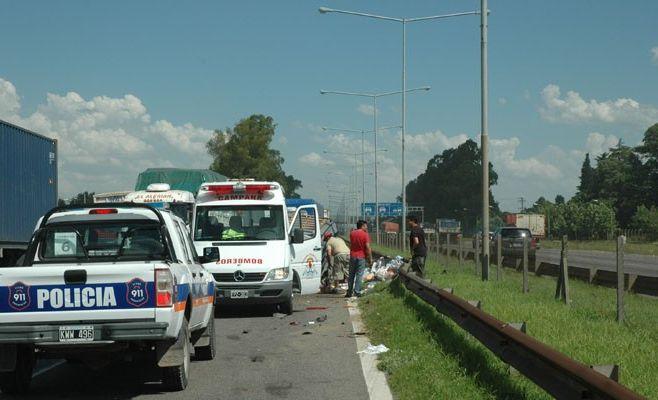 Accidente en Panamericana km 72