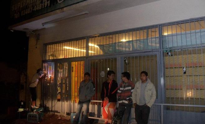 Saquearon 30 comercios en Zarate