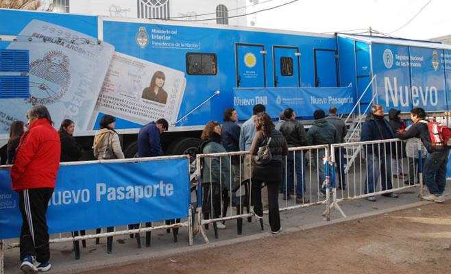 Unidades Moviles DNI Pasaporte