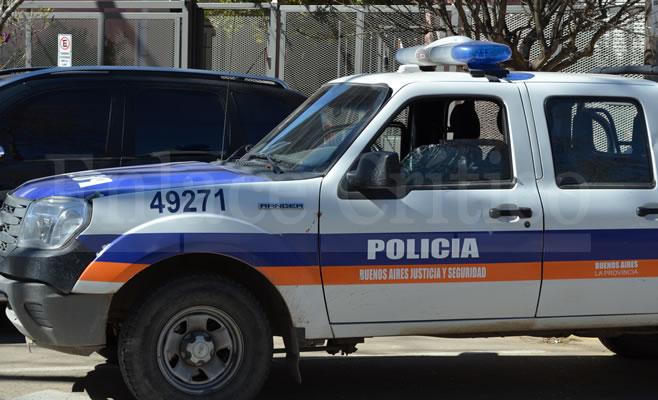 Movil Policial Incidente CADU