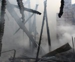 Incendio en Barrio Albizola