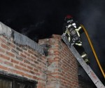 Incendio en vvda. de Otamendi