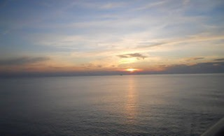 Anochecer en Bari