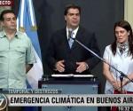 Capitanich Emergencia Climatica