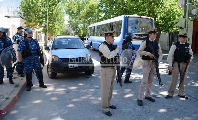Incidentes UOCRA Rivadavia (2)