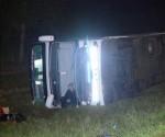 Vuelco Flecha Bus