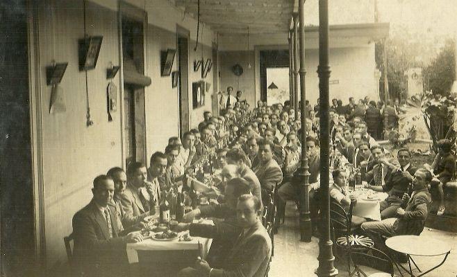 ALMUERZO CRIOLLO 1938