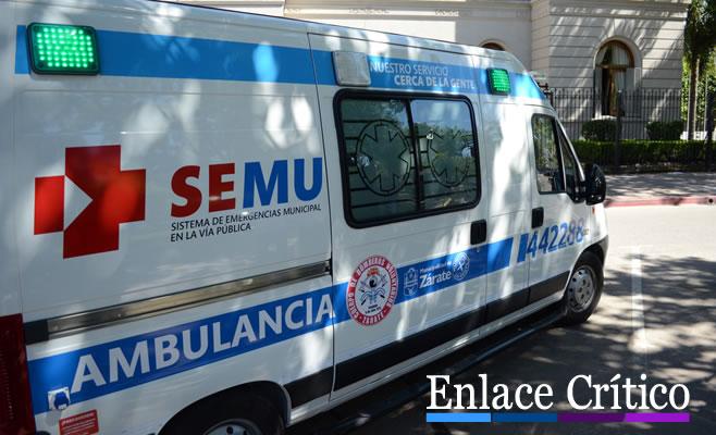 SEMU Ambulancia Unidad de Rescate Bomberos 3