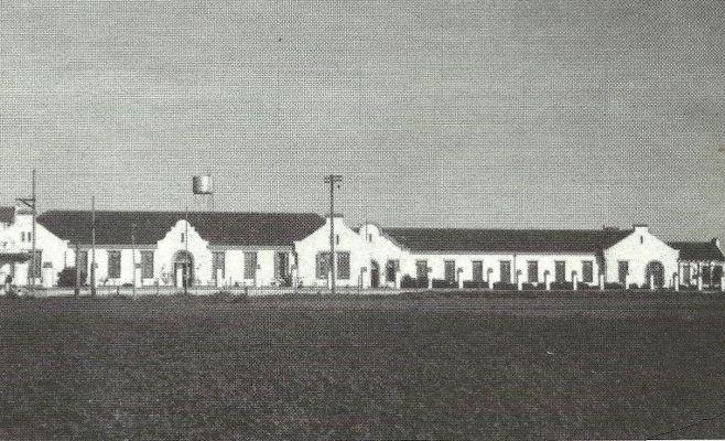 El Hospital Regional en tiempos previos a su inauguraciu00F3n. 1930