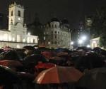 Marcha de los paraguas