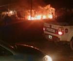 Incendio Falucho y calle 20