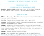 Cronograma 25 de Mayo Zarate