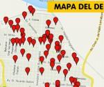 Mapa delito Campana