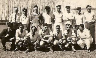 Jugadores de Defensores Unidos, año 1933