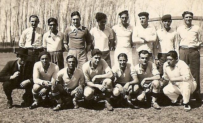 Jugadores de Defensores Unidos. Año 1935
