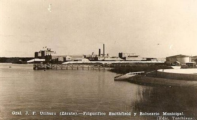 FRIGORIFICO SMITHFIELD DESDE EL BALNEARIO