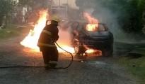 Vehiculo Incendiado 2