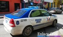 Policia Local Zarate centro