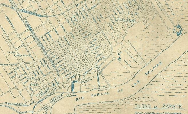 San Jacinto traza-urbana-decada-de-1940