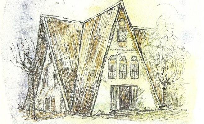 Dibujo Capilla San Jacinto