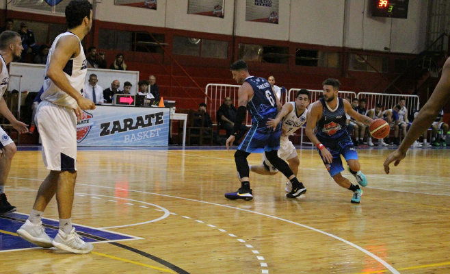 Zárate Basket y una nueva derrota de local