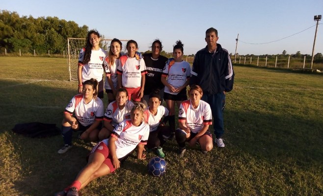El Fútbol Femenino del Deportivo Mitre de Zárate