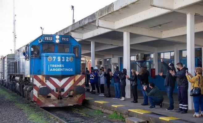 """""""La importancia de este hecho es gratificante no solo para las y los trabajadores del ferrocarril, sino para el país"""""""