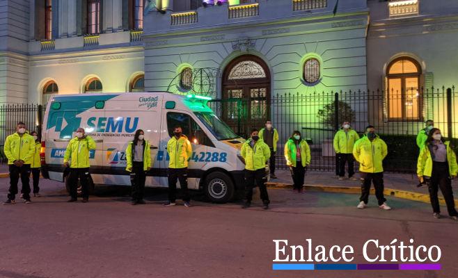 Anunciaron la incorporación de una nueva ambulancia para la flota del SEMU
